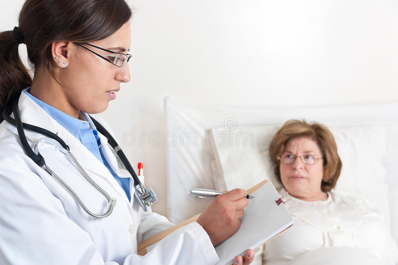 Download Doctor Writing Prescription Stock Photo - Image: 23813148