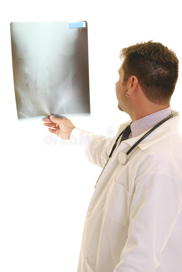 Download Doctor With X-ray Royalty Free Stock Photography - Image: 14390037