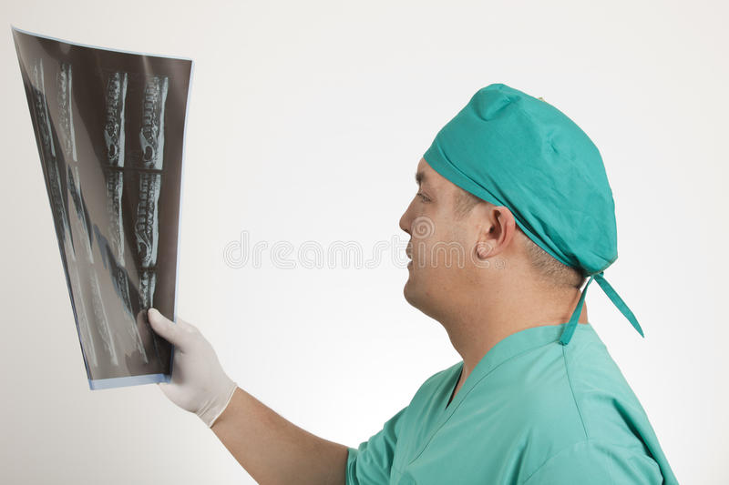 Download Doctor and x ray stock image. Image of green, people - 25010219