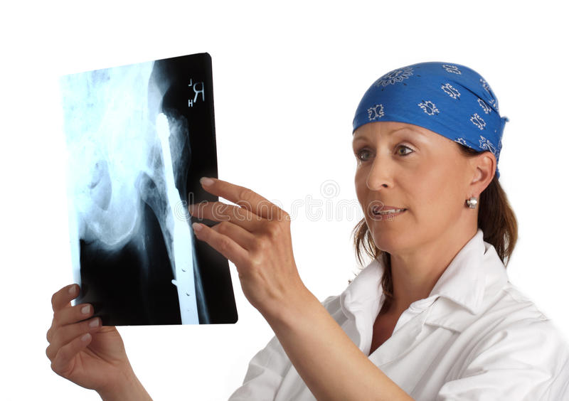 Doctor with xray royalty free stock image