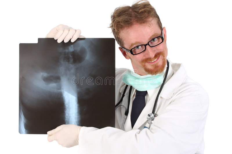 Doctor with xray stock images