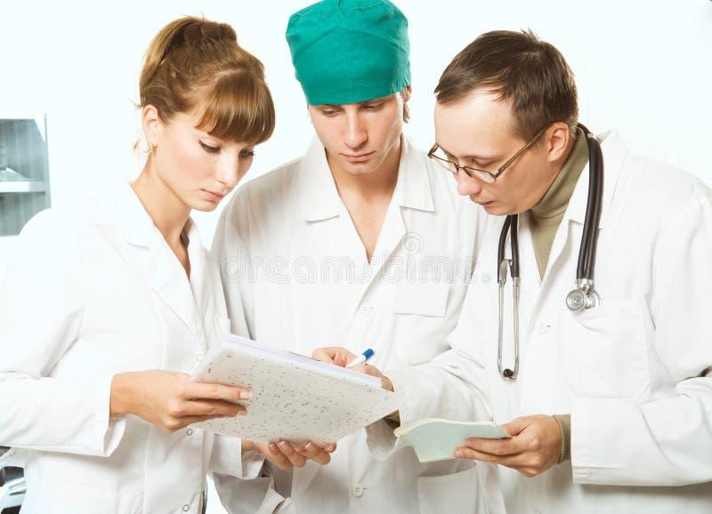 Doctores fotos de archivo