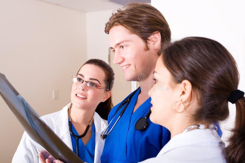 Doctores de trabajo foto de archivo libre de regalías