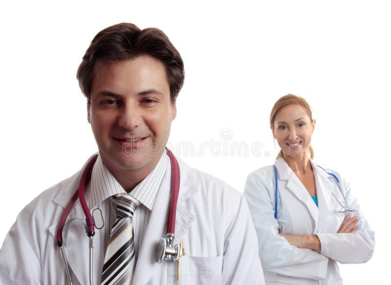 Doctores del cuidado médico foto de archivo libre de regalías