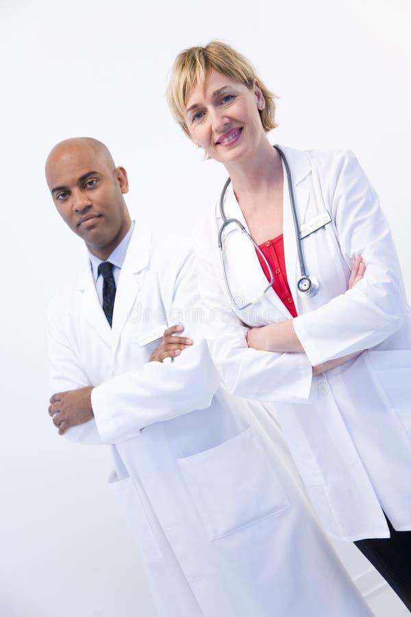 Doctores elegantes imagen de archivo