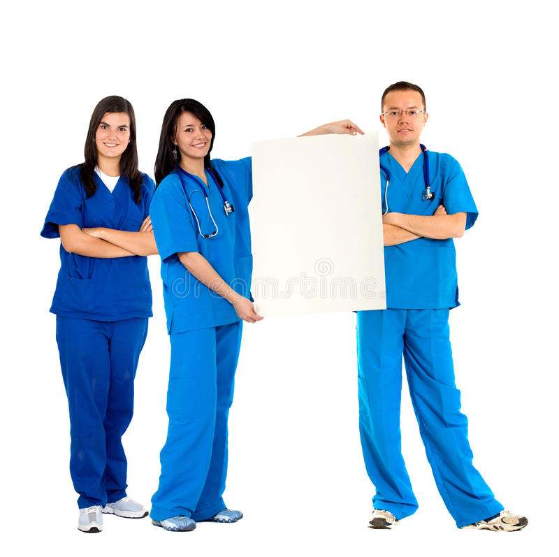 Download Doctors with an banner stock photo. Image of physician - 10349060