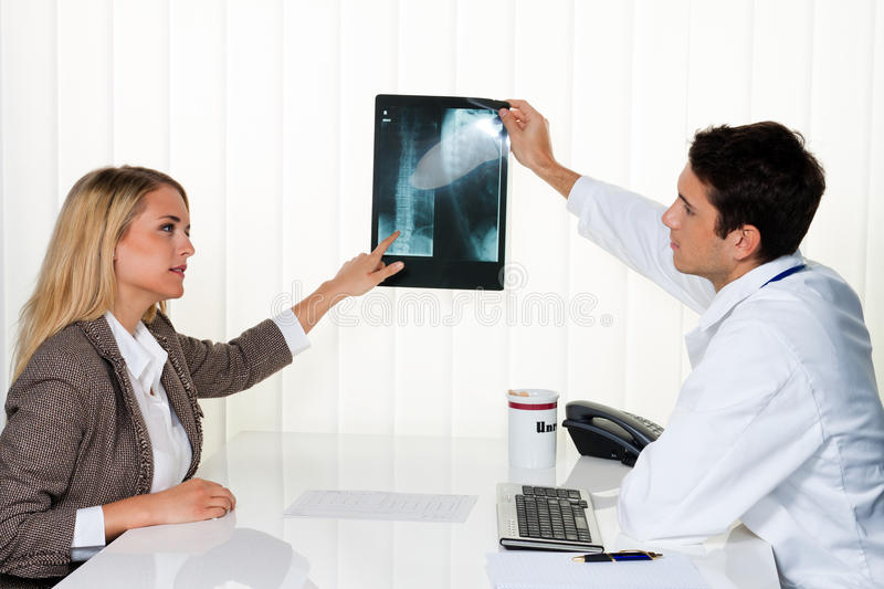 Download Doctors Call. Patient And Doctor In Discussion Stock Photo - Image of patient, schedule: 16250488