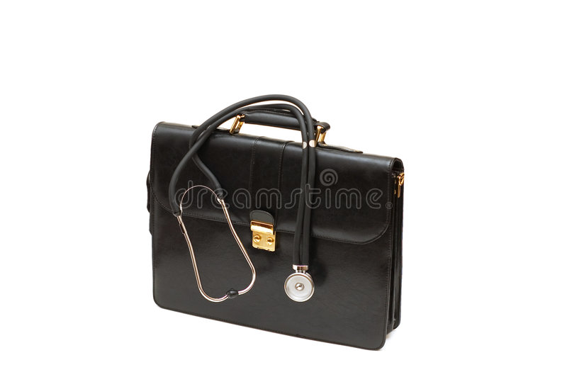Download Doctors' Case With Stethoscope Stock Image - Image: 6317499