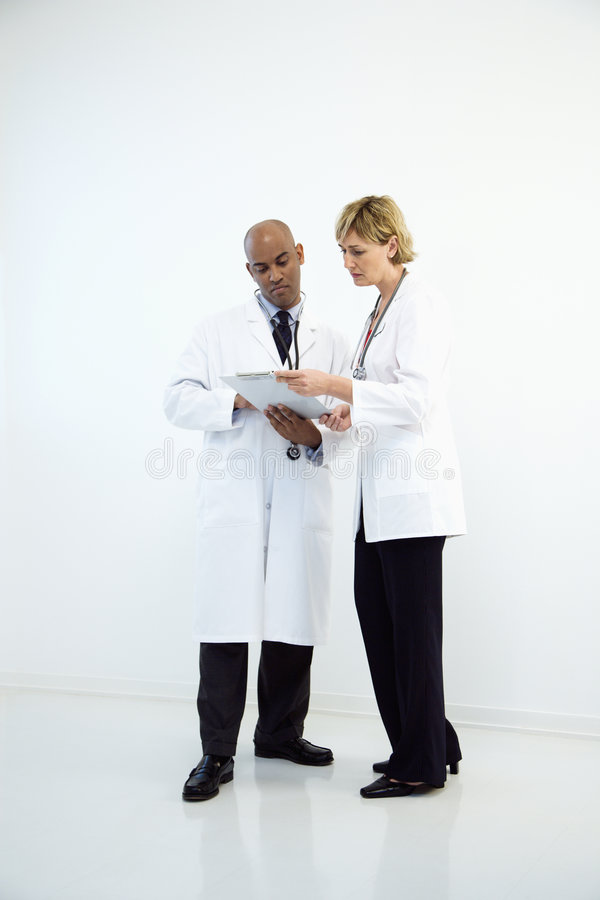 Download Doctors With Chart. Royalty Free Stock Image - Image: 5034196