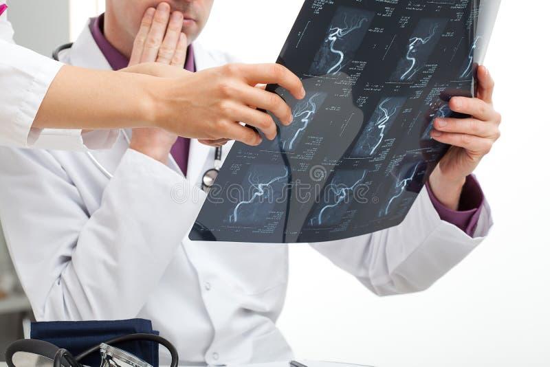 Doctors consultation stock photo