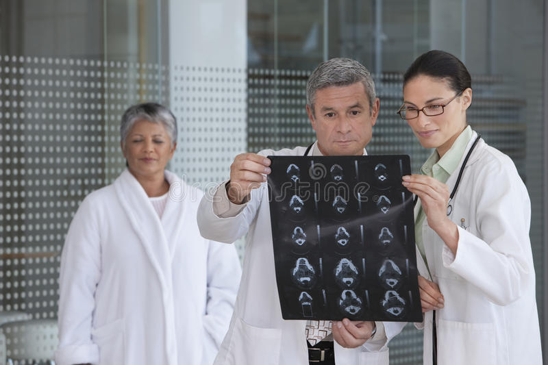Download Doctors Discussing Xray Results Stock Image - Image: 10470887
