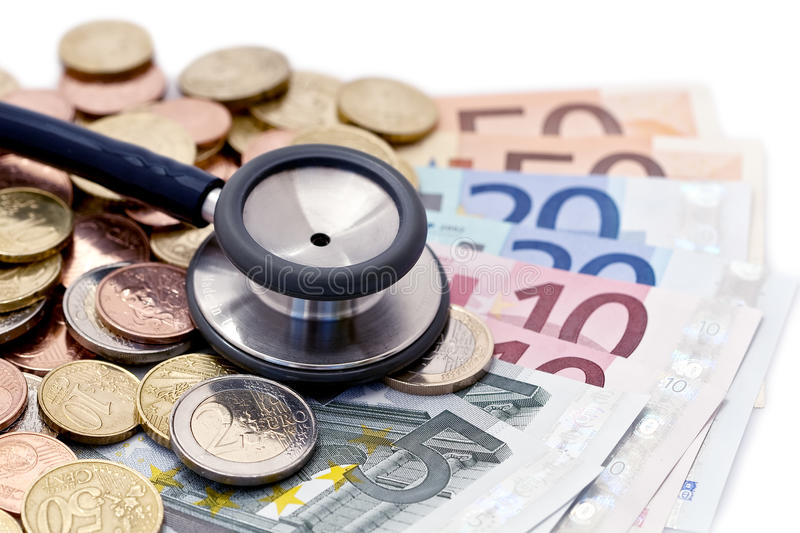 Doctors income royalty free stock photo