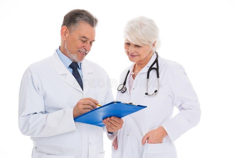 doctors kvinnligmanlign royaltyfria foton