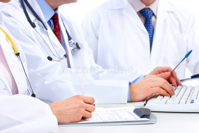 doctors läkarundersökning arkivfoto