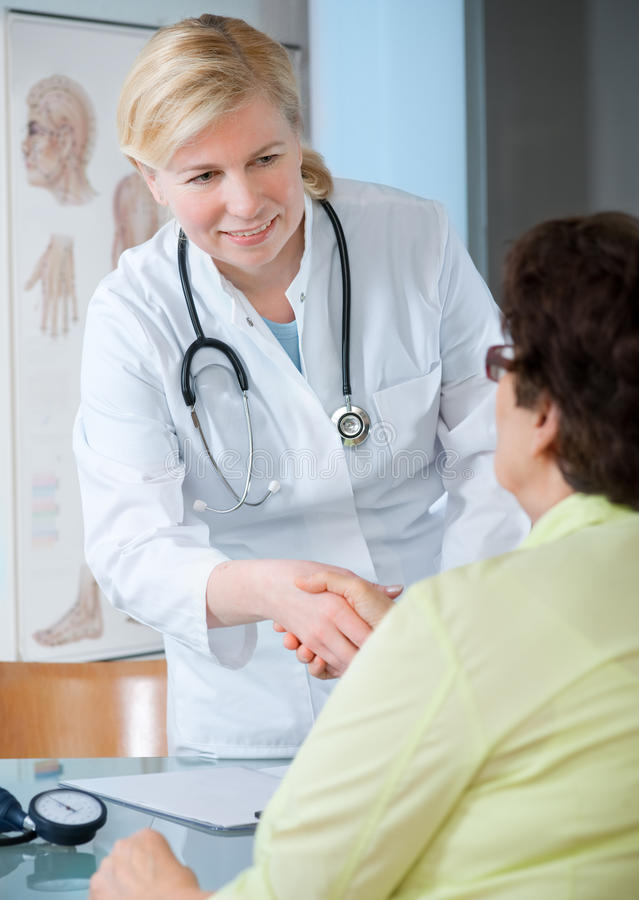 Download At the doctors office stock image. Image of adult, exam - 13818289
