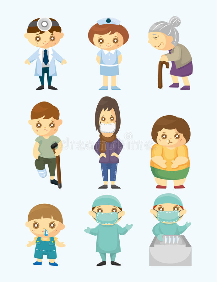 Download Doctors and Patient people stock vector. Illustration of health - 22413802