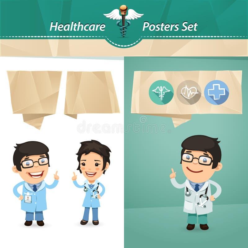 Download Doctors With Speech Bubbles Set Stock Vector - Image: 40834094