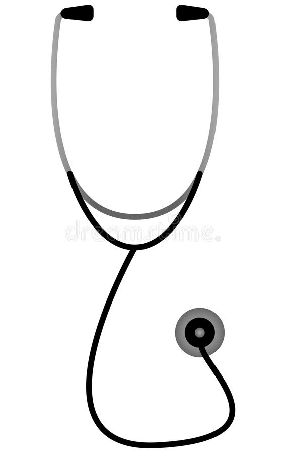 A Doctors Stethoscope Stock Photography
