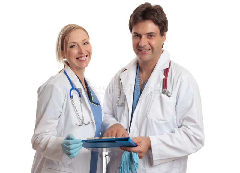 Doctors or surgeons royalty free stock photography