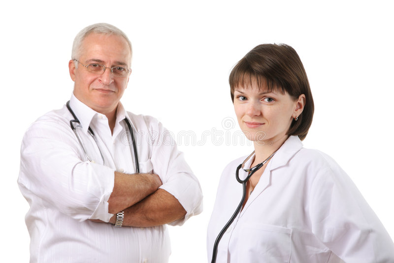 Doctors team stock photography