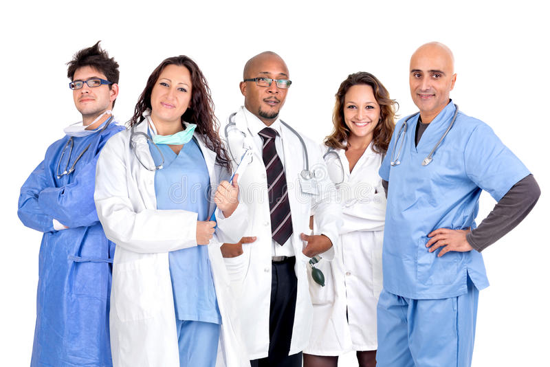 Doctors team stock images