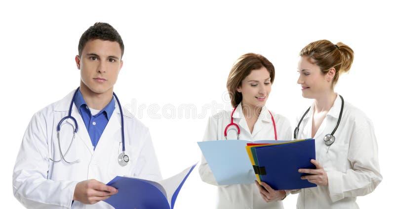 doctors teamwork för hälsofolkprofessionell arkivbild