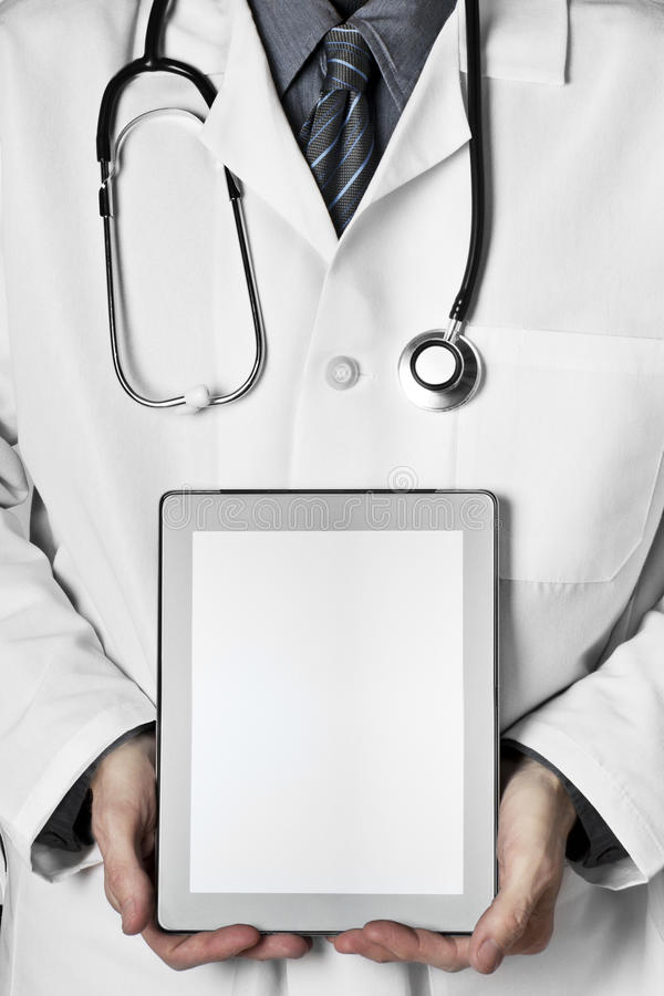 Doctors and technology stock images