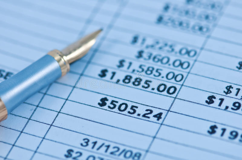 Download Document stock photo. Image of savings, paper, number - 14540944