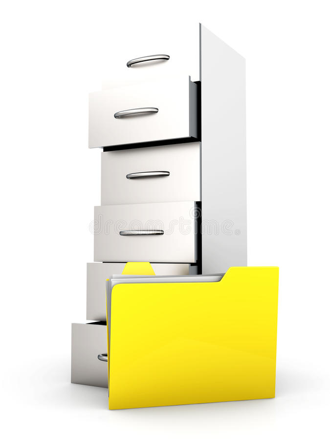 Download Document Archive Stock Image - Image: 19826431