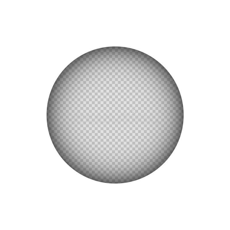 Document besnoeiingsspot op cirkel witte achtergrond royalty-vrije illustratie