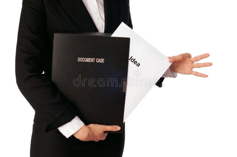 Document case stock photography