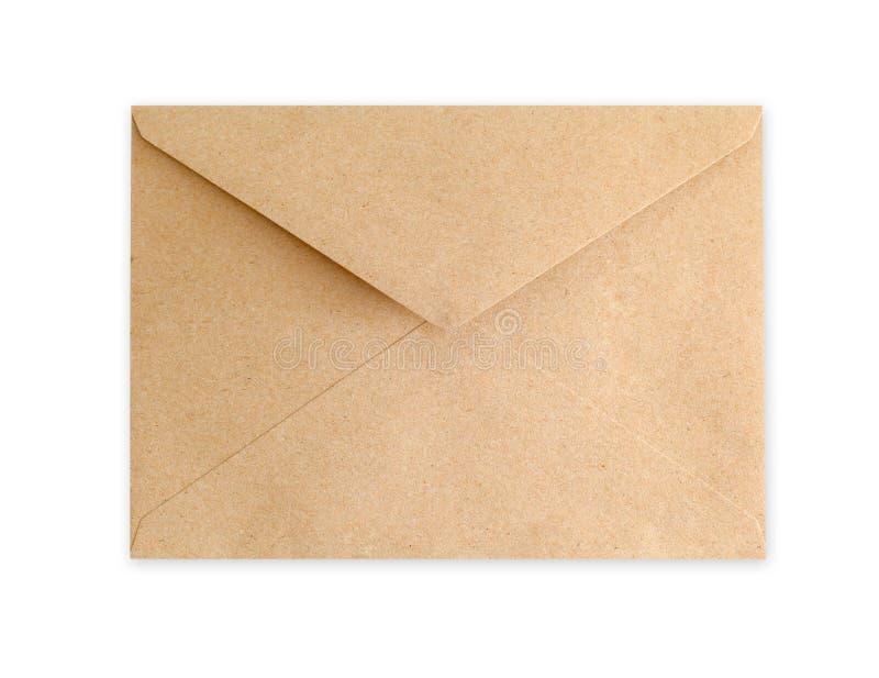 Download Document D'enveloppe De Brown Sur Le Fond Blanc Photo stock - Image du delivery, document: 45357078