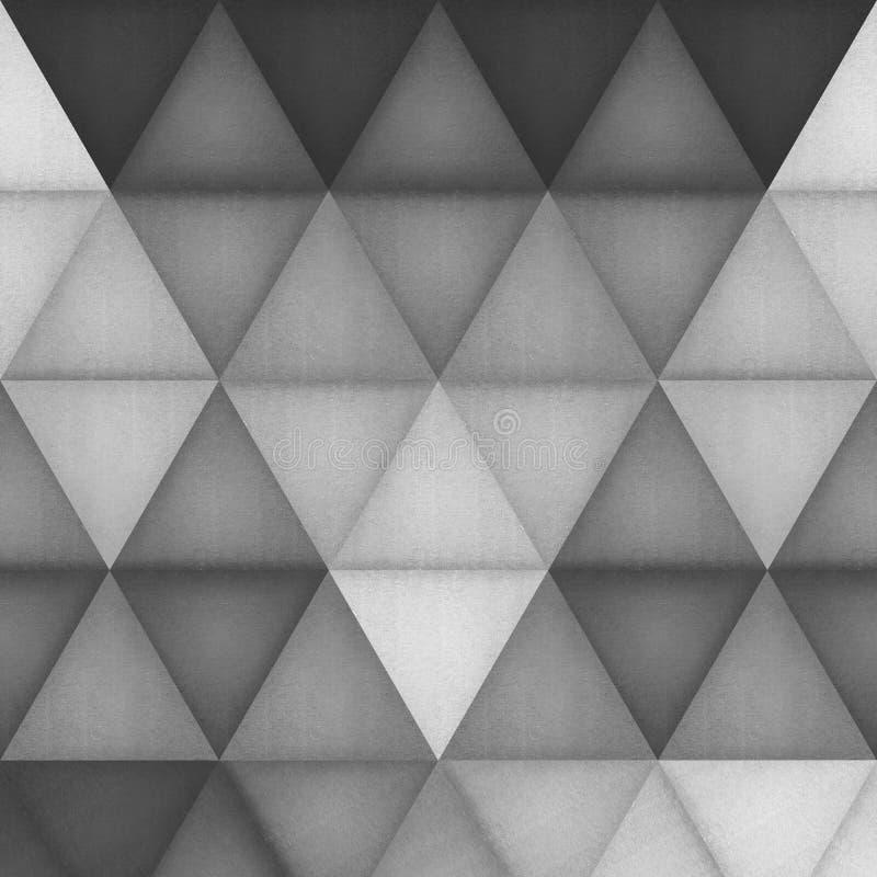 Document de besnoeiing van de achtergrond van het driehoekspatroon is creatief behang F vector illustratie