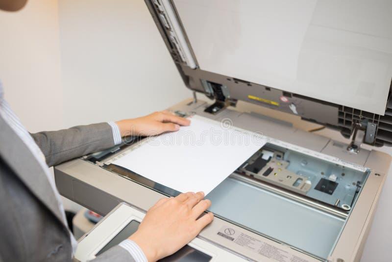 Document de copie image stock