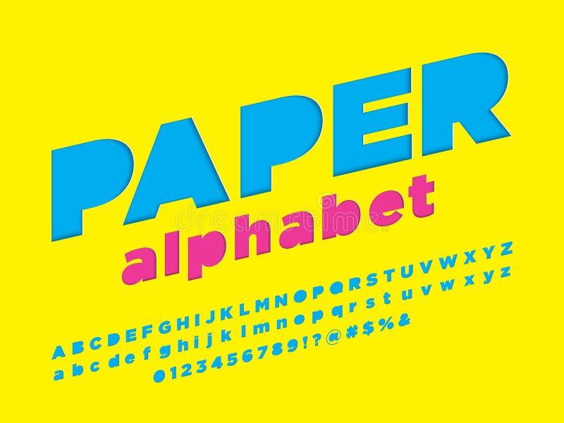 Document doopvont vector illustratie