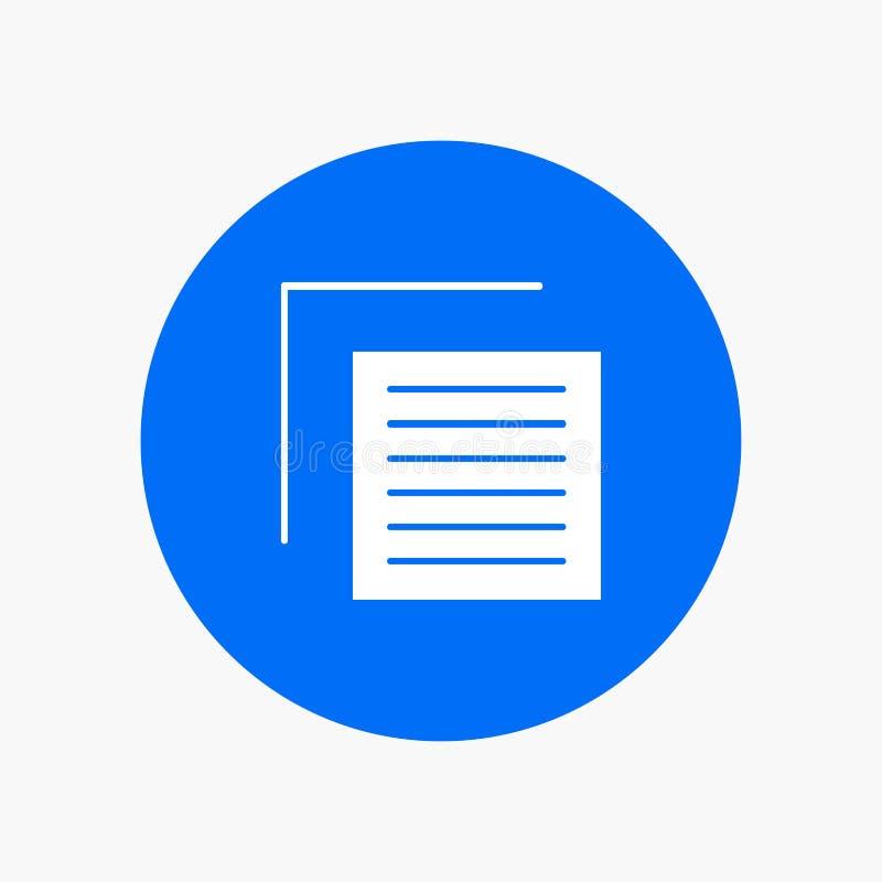 Document, Dossier, Gebruiker, Interface stock illustratie