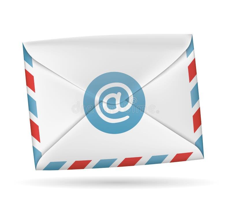 Document envelop vector illustratie