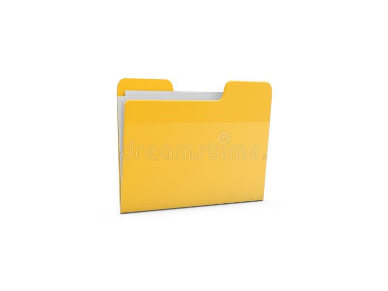 Document File Folder Stock Image