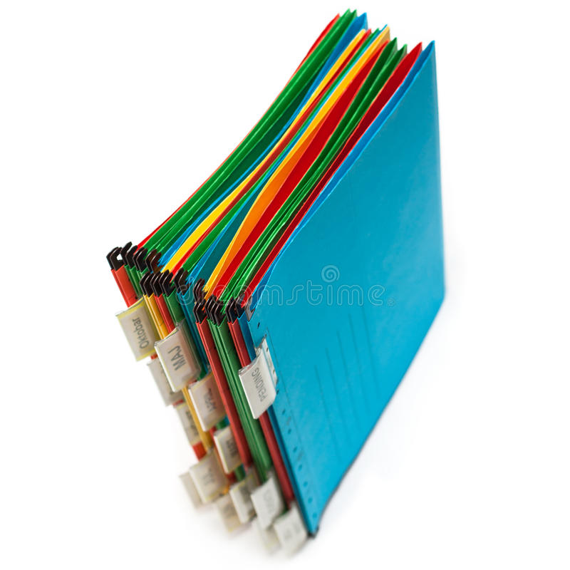 Download Document folder stock photo. Image of multi, notepaper - 22307166