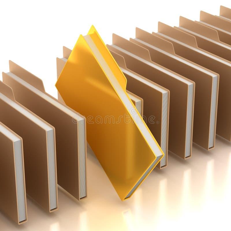 Document Folders Stock Image