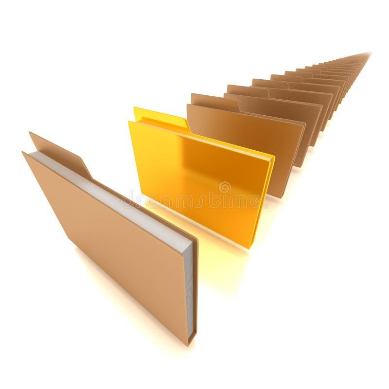 Download Document folders stock illustration. Illustration of book - 25926032