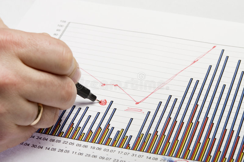 Document graphics 6 stock image