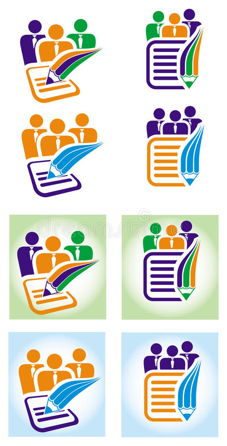Download Document icons stock vector. Image of connection, office - 16229594