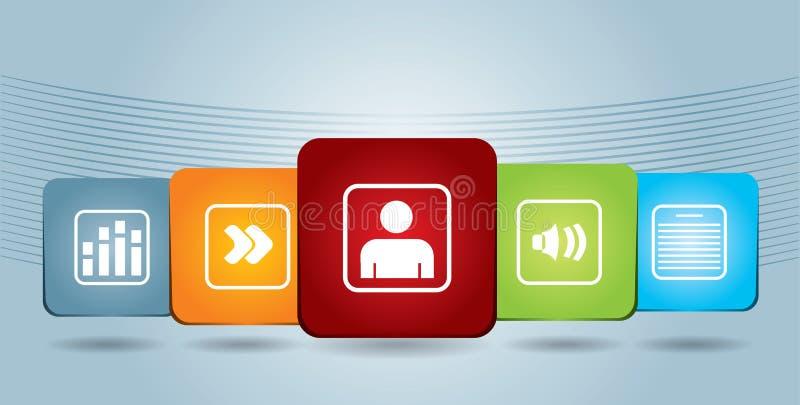 Document Icons Stock Image