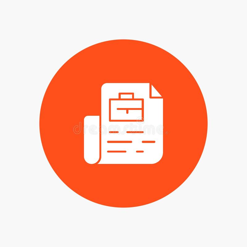 Document, le travail, dossier, sac illustration libre de droits