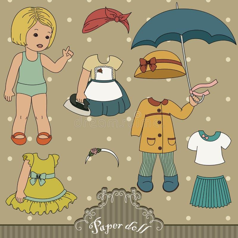 Document pop vector illustratie