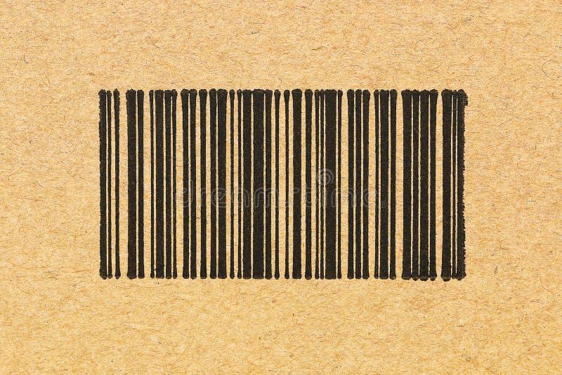 document textuur met streepjescode stock afbeeldingen