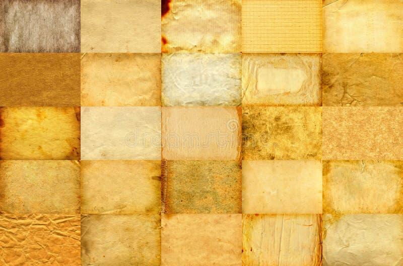 Document Textuurreeks stock afbeelding