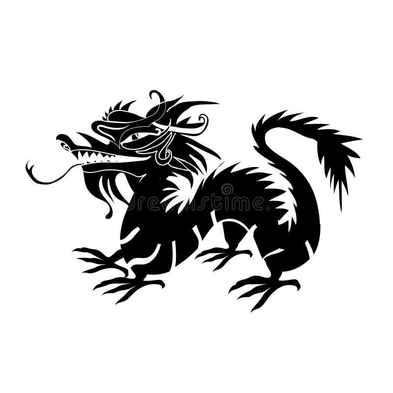 Download Document Van Een Draak China Wordt Verwijderd Dat Vector Illustratie - Illustratie bestaande uit astrologisch, illustratie: 107707957
