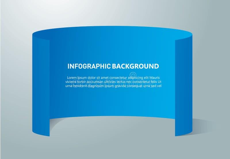 Document vector het ontwerpmalplaatje van informatie grafisch banners vector illustratie